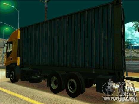 Iveco Stralis para la visión correcta GTA San Andreas