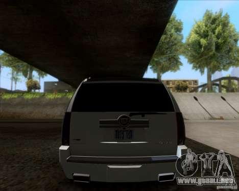 Cadillac Escalade ESV Platinum 2013 para la visión correcta GTA San Andreas