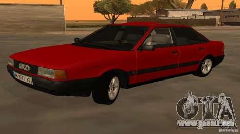 Audi 80 B3 v2.0 para GTA San Andreas left
