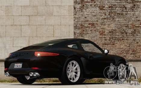 Porsche Cayman S 2006 EPM para GTA 4 Vista posterior izquierda