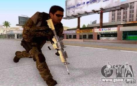 David Mason para GTA San Andreas sexta pantalla