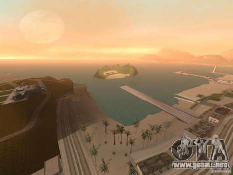 Volcano para GTA San Andreas sucesivamente de pantalla