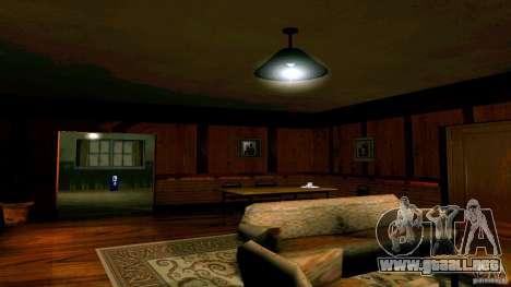 Nuevas texturas para la casa de CJ para GTA San Andreas tercera pantalla