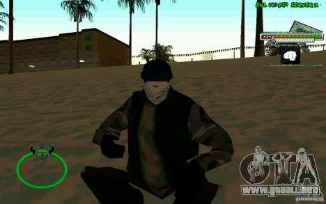 Bomje & Gop para GTA San Andreas segunda pantalla