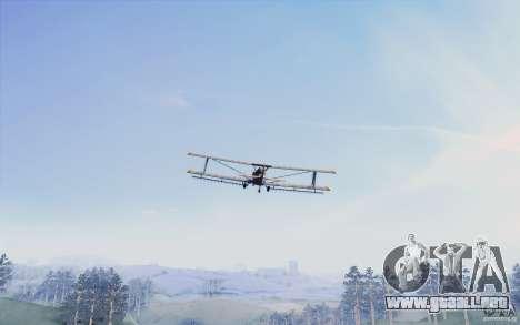 Sky Box V1.0 para GTA San Andreas segunda pantalla