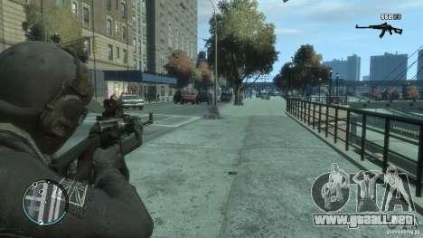 EL PKK para GTA 4 quinta pantalla