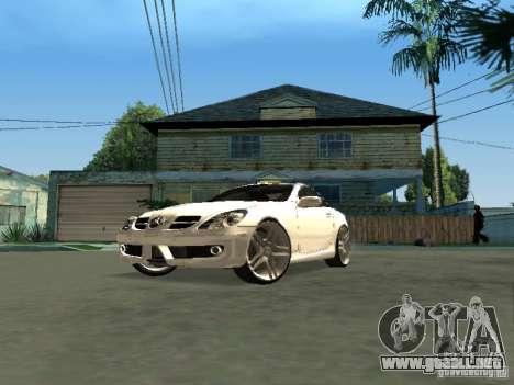 Mercedes Benz SLK 300 para la visión correcta GTA San Andreas
