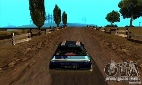 Ford Sierra RS500 Cosworth RallySport para la visión correcta GTA San Andreas