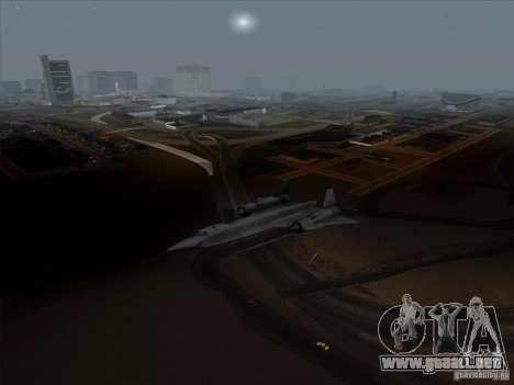 YF-12A para GTA San Andreas left
