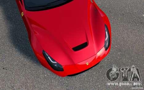 Ferrari F12 Berlinetta 2013 [EPM] para GTA 4 Vista posterior izquierda