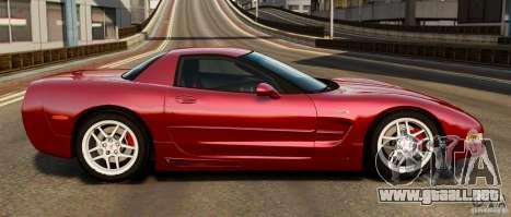 Chevrolet Corvette C5 2001 EPM para GTA 4 left