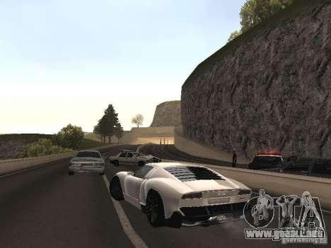 Lamborghini Miura LP670 para GTA San Andreas left