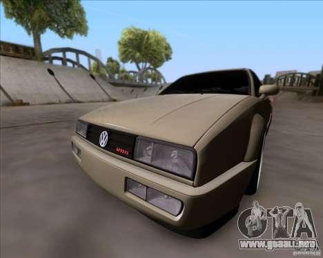 Volkswagen Corrado VR6 1995 para GTA San Andreas left