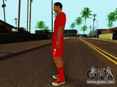 Cristiano Ronaldo v4 para GTA San Andreas tercera pantalla