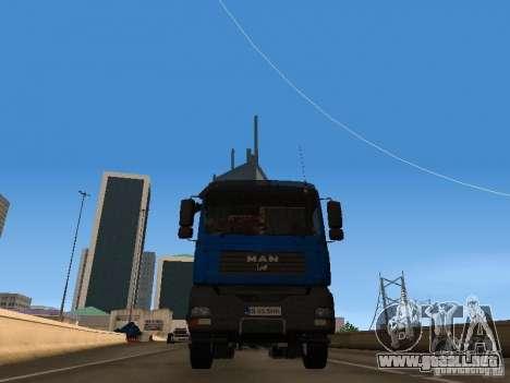 MAN TGA 28 430 PALIFT para la visión correcta GTA San Andreas