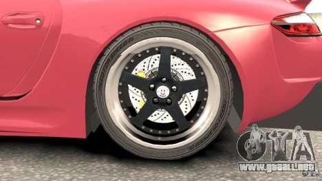 Porsche 997 GT2 Body Kit 2 para GTA 4 vista lateral