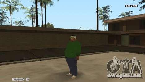 Skin Pack Groove Street para GTA San Andreas segunda pantalla