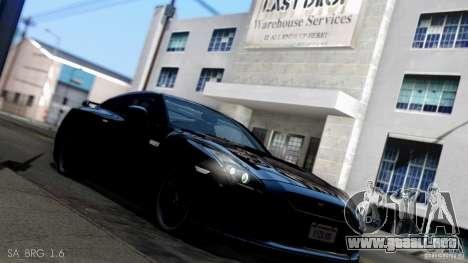 SA Beautiful Realistic Graphics 1.6 para GTA San Andreas