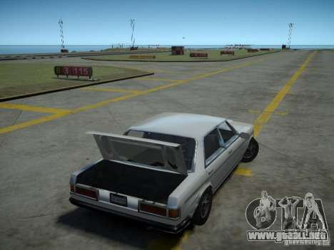 Admiral SA para GTA 4 vista hacia atrás