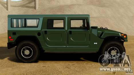 Hummer H1 Alpha para GTA 4 left