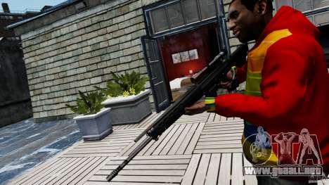 SIG SG 550 Sniper para GTA 4 segundos de pantalla