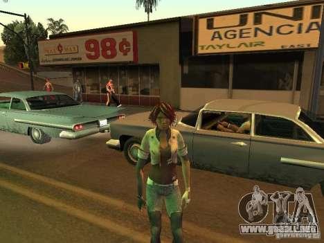 Remember Me Nilin para GTA San Andreas quinta pantalla