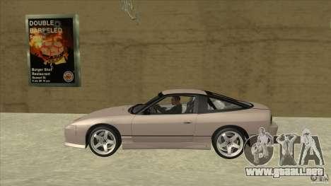 Nissan 240sx S13 JDM para GTA San Andreas left