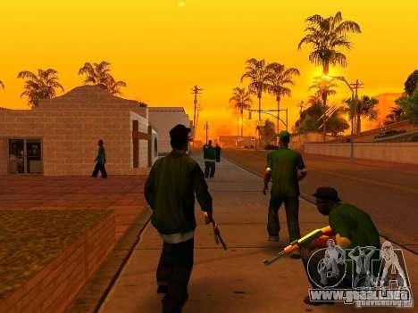 Grove Street Forever para GTA San Andreas segunda pantalla