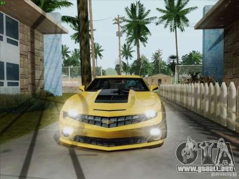Chevrolet Camaro SS 2012 para GTA San Andreas left