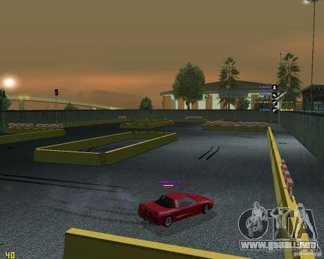 Circuito de deriva para GTA San Andreas