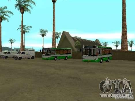 4-th autobús v1.0 para GTA San Andreas segunda pantalla