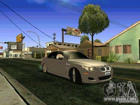 BMW M5 E60 para la visión correcta GTA San Andreas