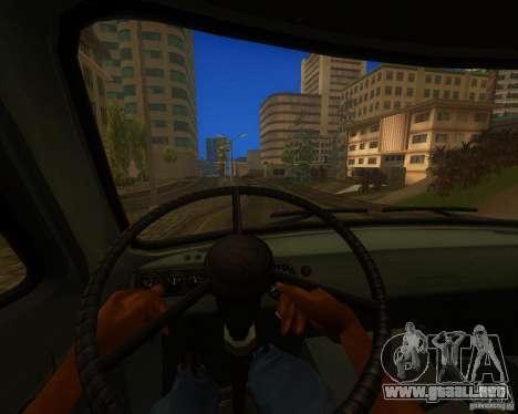 UAZ 330364 para GTA San Andreas vista hacia atrás