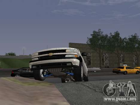 Chevorlet Silverado 2000 para visión interna GTA San Andreas