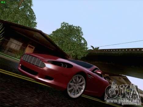 Aston Martin DB9 para vista inferior GTA San Andreas