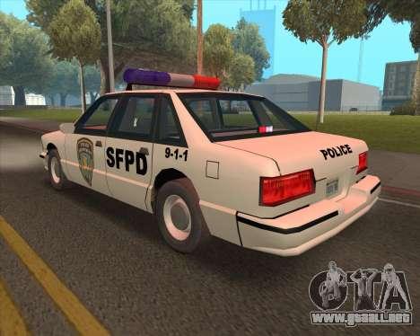 Updated SFPD para la visión correcta GTA San Andreas