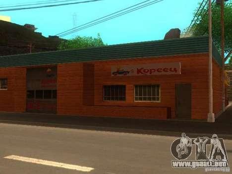 Aldea Stepanovo para GTA San Andreas tercera pantalla