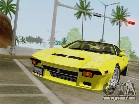 De Tomaso Pantera GT4 para GTA San Andreas left