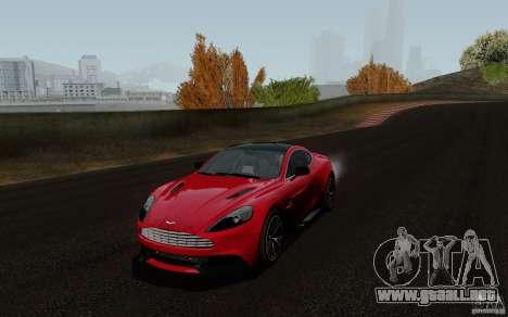 Aston Martin Vanquish 2012 para GTA San Andreas