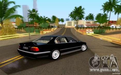 BMW 730i E38 FBI para GTA San Andreas left