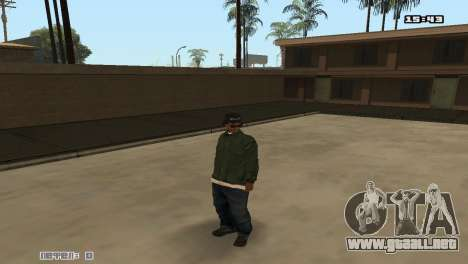 Skin Pack Groove Street para GTA San Andreas sucesivamente de pantalla
