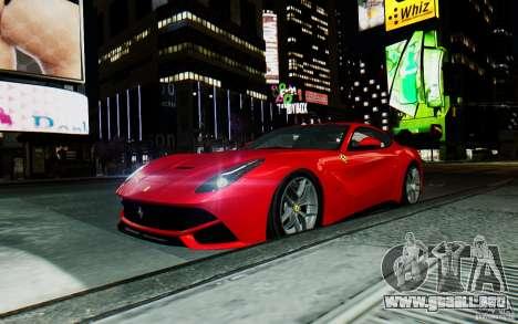 Ferrari F12 Berlinetta 2013 [EPM] para GTA 4 vista hacia atrás
