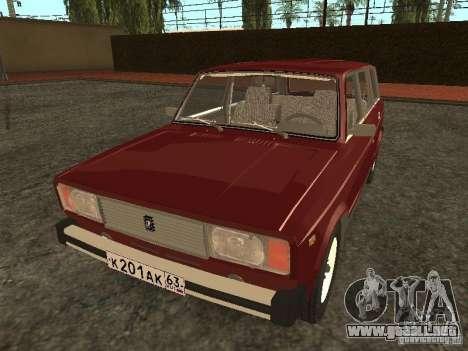 VAZ 2104 v. 2 para GTA San Andreas