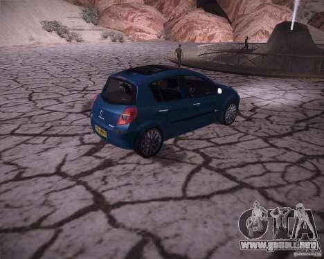 Renault Clio III para la visión correcta GTA San Andreas
