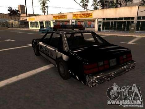 Police VC para GTA San Andreas vista posterior izquierda