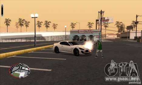 GodPlayer v1.0 for SAMP para GTA San Andreas quinta pantalla