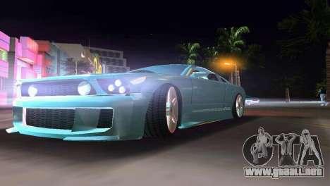 Ford Mustang 2005 GT para GTA Vice City visión correcta