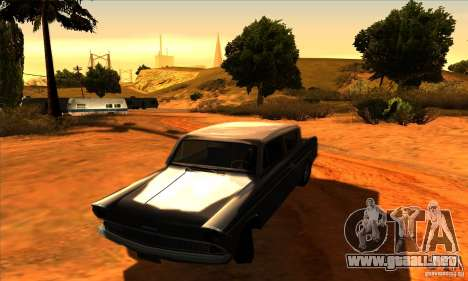 Ford Anglia 1959 para GTA San Andreas vista hacia atrás