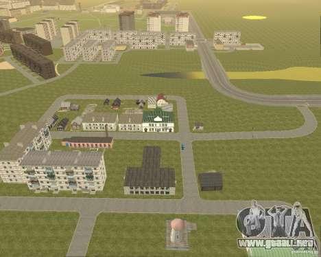 Nuevo campo del distrito de sueños para GTA San Andreas segunda pantalla