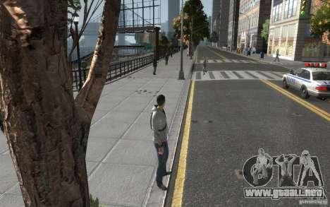 Desmond Miles de AC3 para GTA 4 tercera pantalla